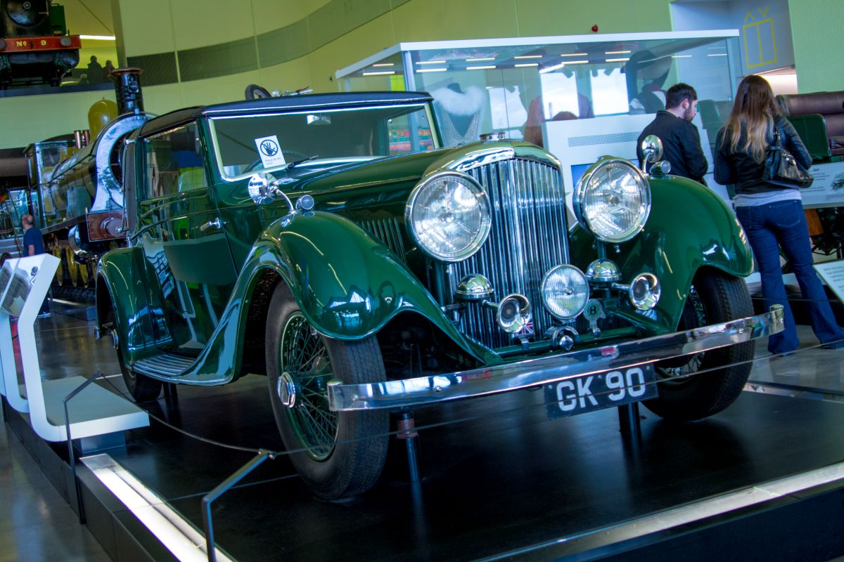 Bentley 3,5 Litre Sedanca Coupe 1934