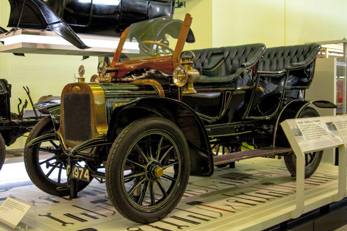 Argyll 10 12 tourer 1907