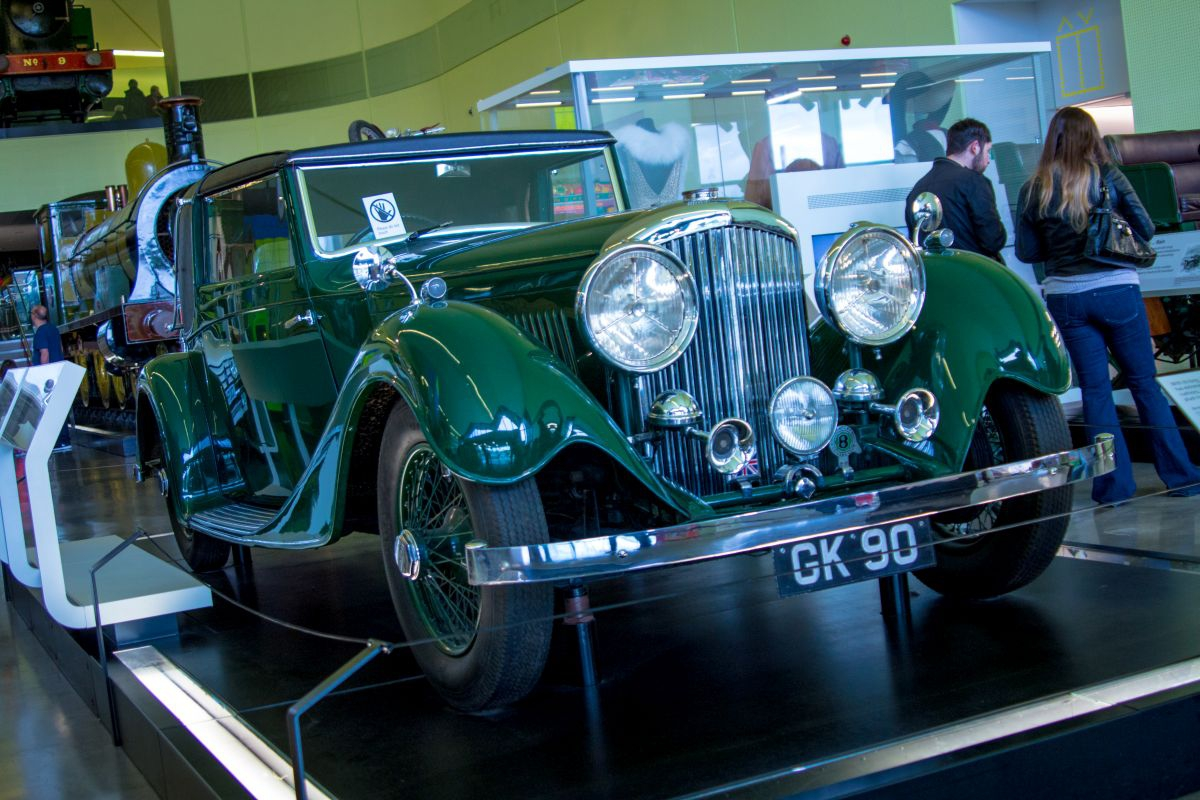 Bentley 3,5 Litre Sedanca Coupe 1934