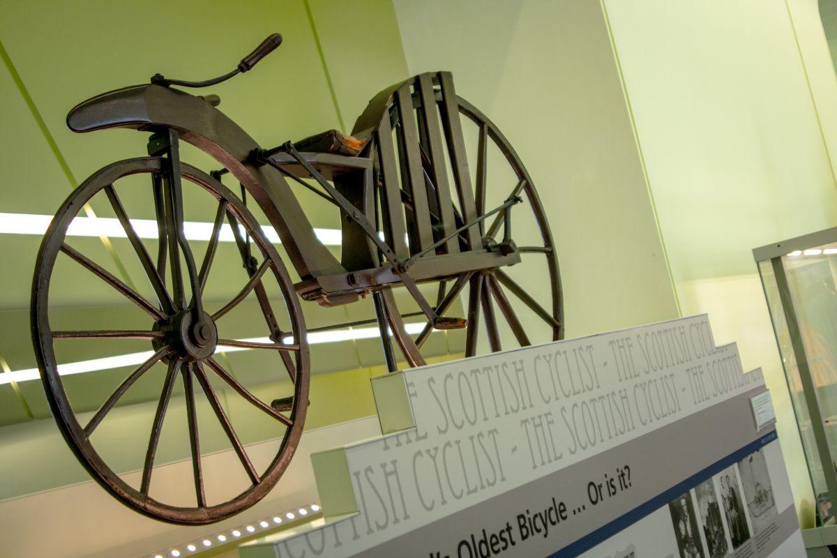 Najstarší bicykel