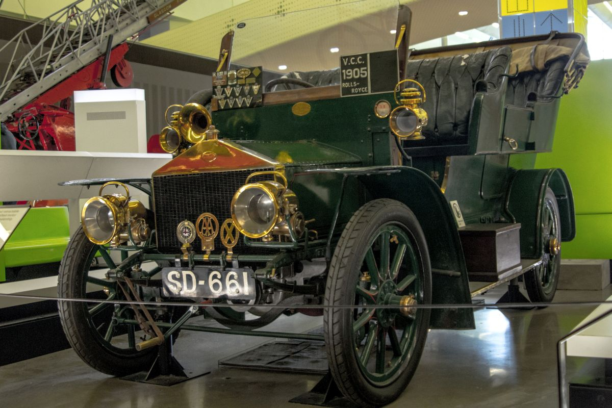 Rolls-Royce Three Cylinder 15hp 1905