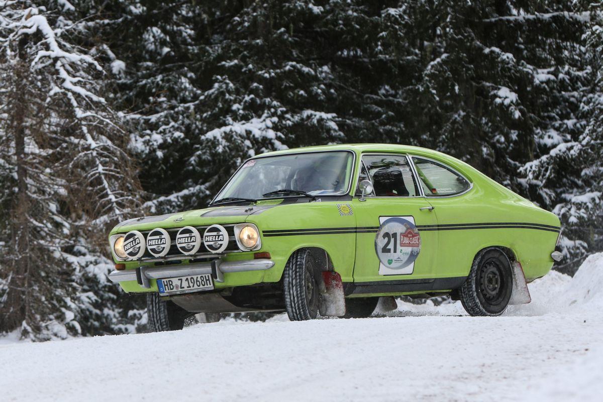 Opel Kadett B Rallye Sprint, r.v. 1968.