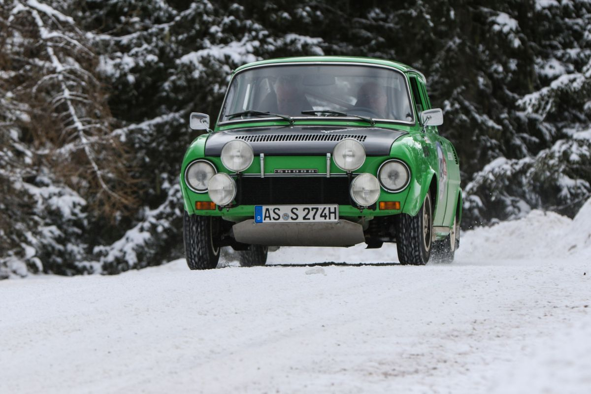 Škoda 120 S Rallye, r.v. 1972.