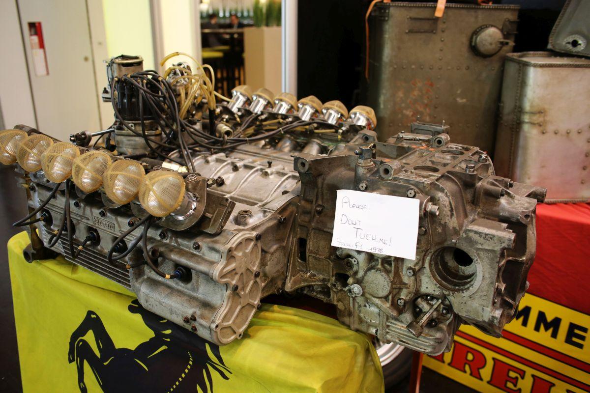 Ferrari F1 - motor