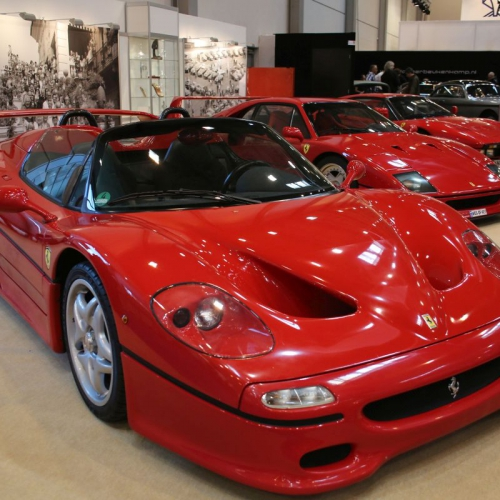 Svätá trojica - Ferari F50, Ferrari F40, Ferrari GTO