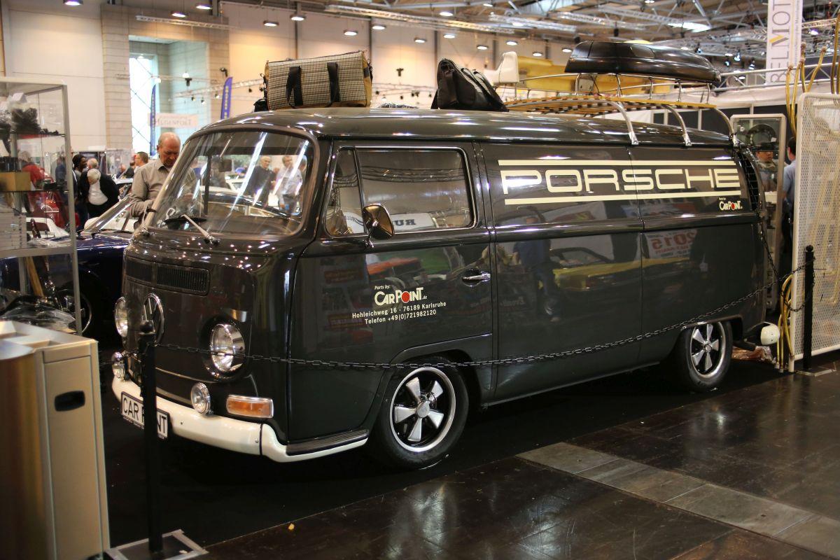 Volkswagen T1 - sprievodne vozidlo
