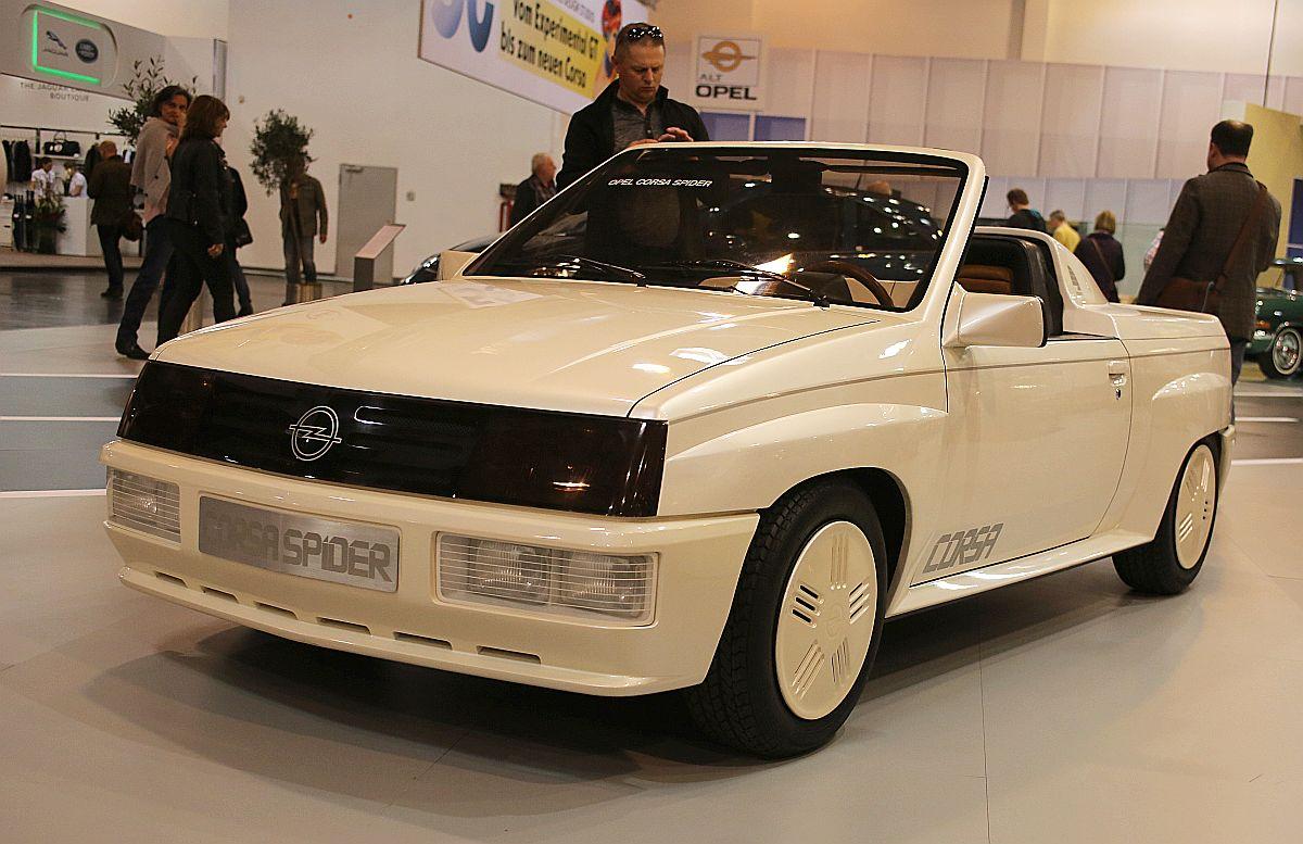 Opel Corsa Spider (1982) - dizajnová štúdia