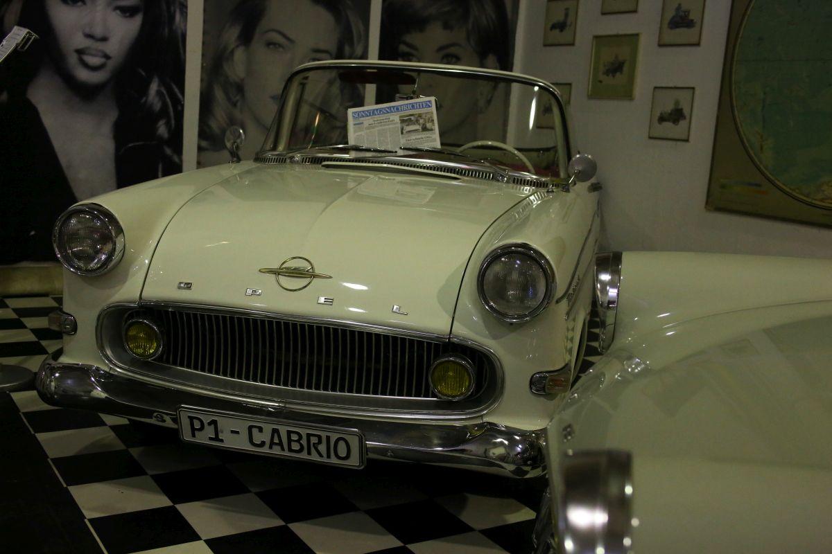 Opel Rekord Cabriolet (1959)
