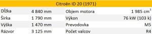 Citroen ID 20 tabula