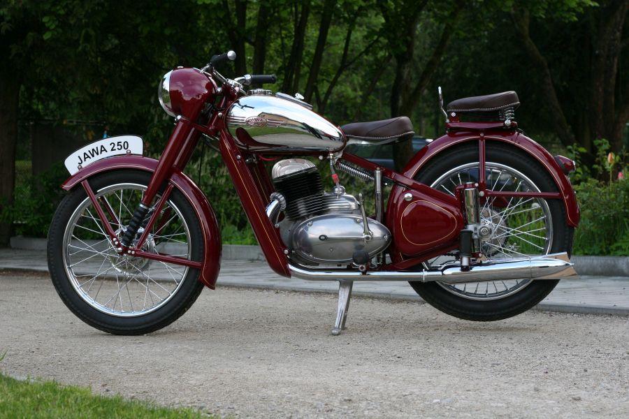 Jawa 250 Perák 1953
