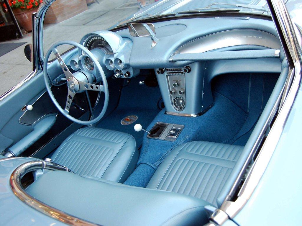 Corvette interier