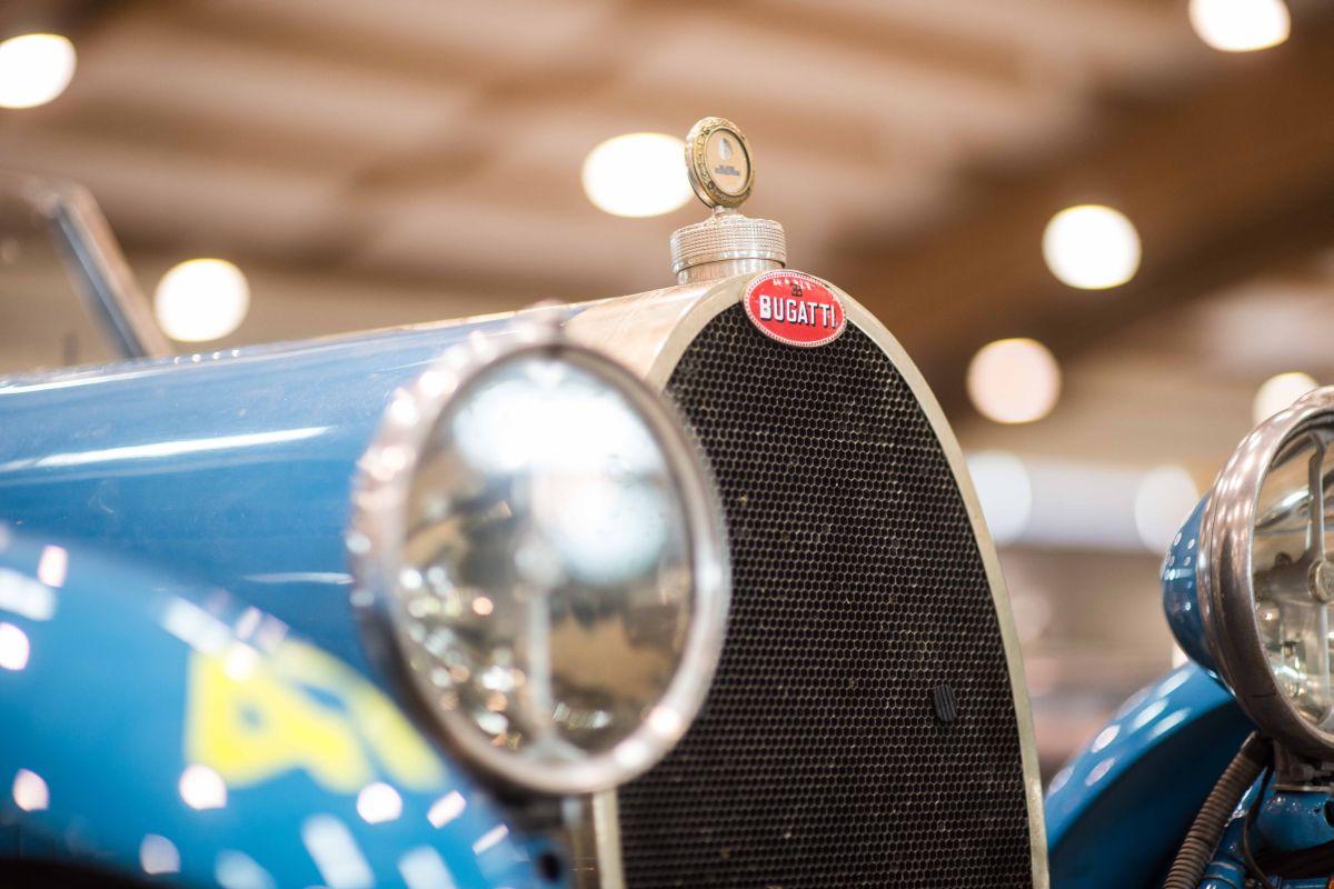 Juan Tonconogy and Guillermo Berisso on Bugatti T 40