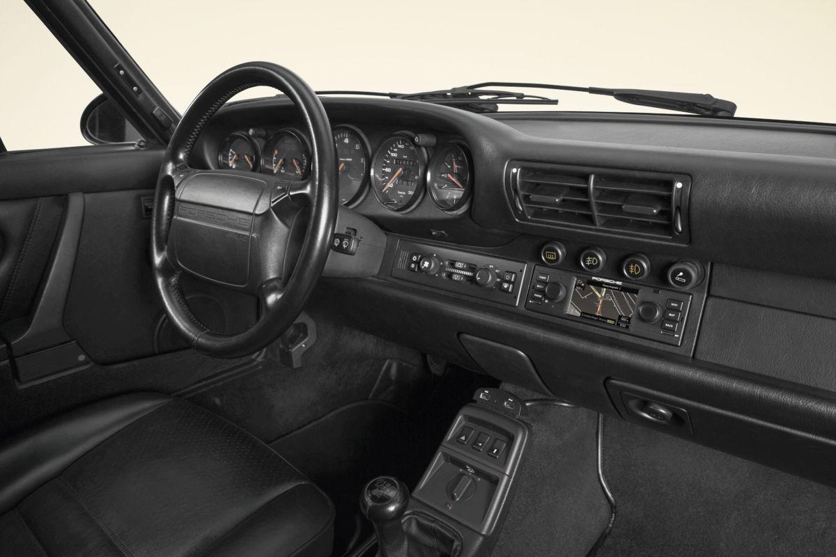 Porsche Classic Interier autoradio 03