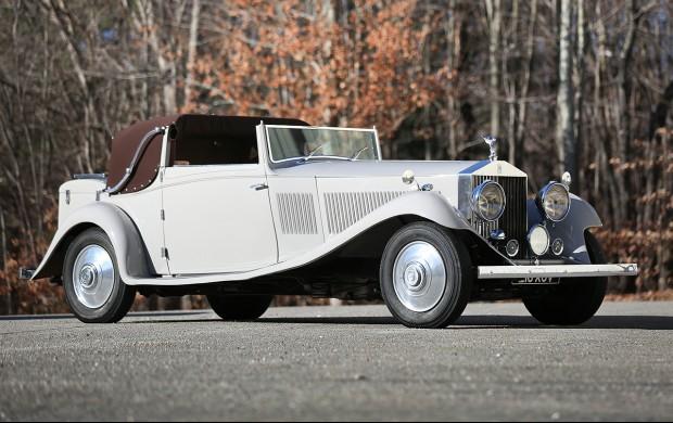 1934 Rolls-Royce Phantom II Continental Sedanca Drophead Coupe