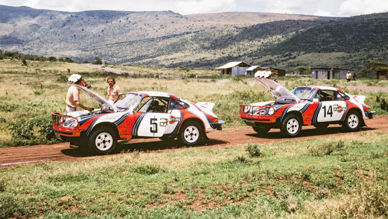 Porsche rely afrika