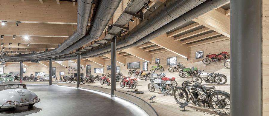BMW motocyklove muzeum Rakusko